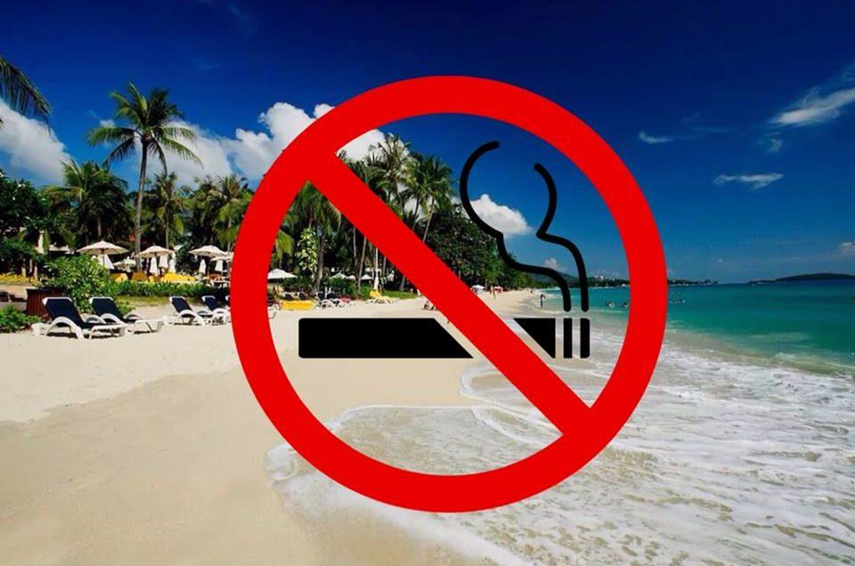 В Таиланде запретят курение на пляжах.
