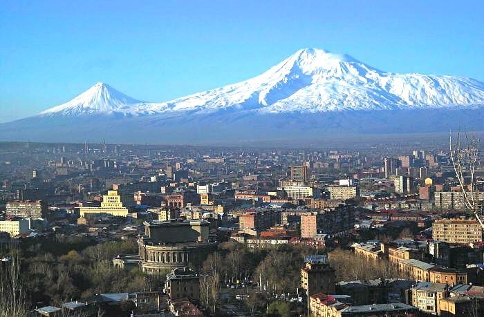 Ереван, гора Арарат