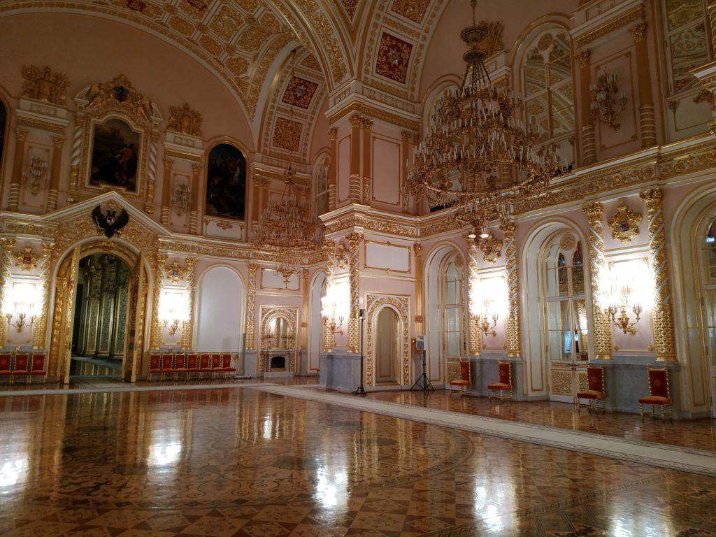 залы Кремля