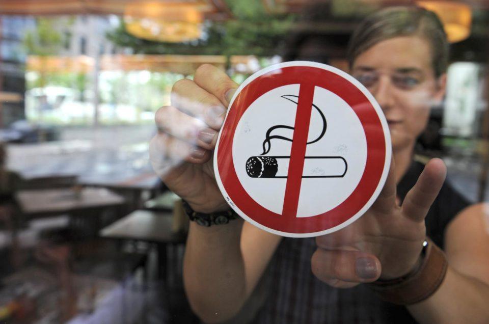 Запрет на курение в Черногории